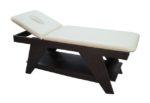 Εξεταστικό κρεβάτι με ξύλινο πλαίσιο