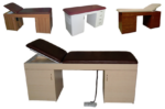 Wood exam bed