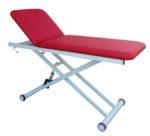 Εξεταστικό κρεβάτι με ρύθμιση στο ύψος